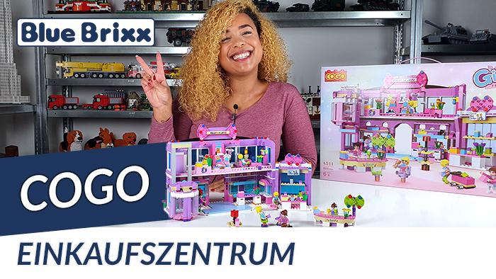 Youtube: Einkaufszentrum von COGO @ BlueBrixx - riesengroß und riesig günstig!