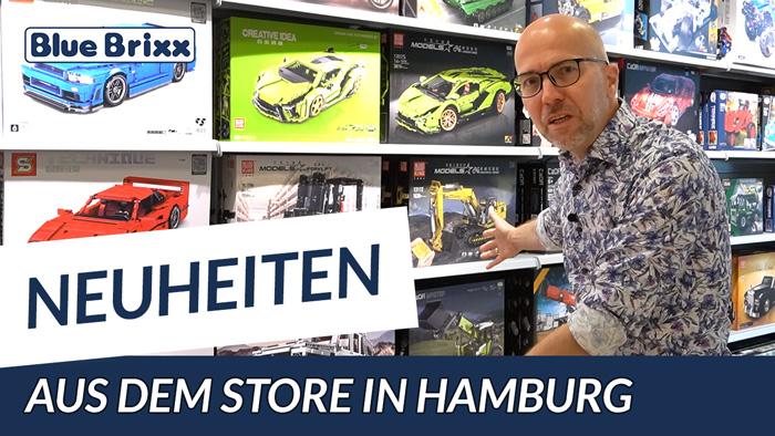 Youtube: Neuheiten @ BlueBrixx - heute aus dem neuen Store in Hamburg!