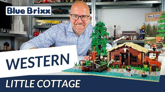 Youtube: Little Cottage - ein Western-Set von BlueBrixx Pro @ BlueBrixx