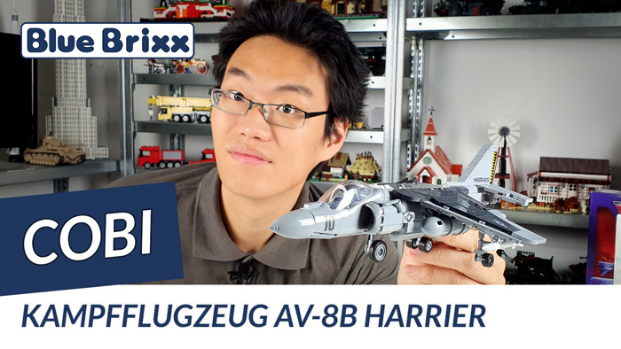 Youtube: AV-8B Harrier II Plus von Cobi @ BlueBrixx