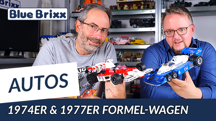 Formel Wagen 74er & 77er von BlueBrixx - mit Ausblick auf weitere Modelle!