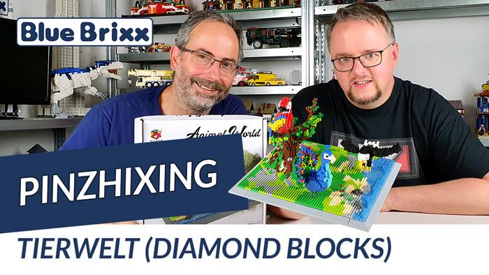 Youtube: Tierwelt aus Diamond Blocks von PinZhiXing @ BlueBrixx