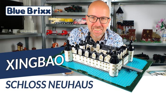 Youtube: Schloss Neuhaus von Xingbao @ BlueBrixx