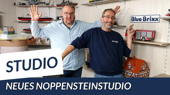 Youtube: Unser neues Noppensteinstudio - eine Roomtour bei BlueBrixx!