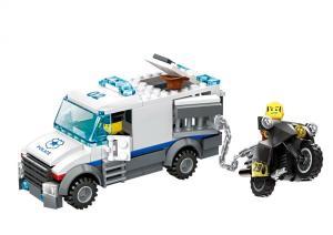Police Prisoner Transport Car