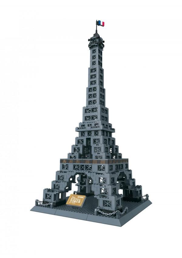 The Eiffel Tower of Paris - France