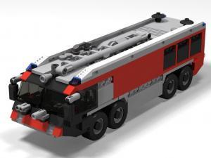 LKW Feuerwehr Titan 52, Flughafen