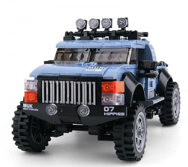 Offroad Adventure Truck, Blue