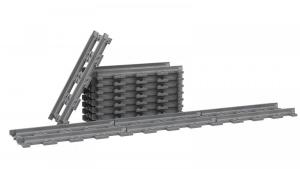 Track straight 16 studs Track set, 12 pcs