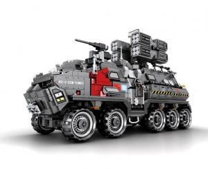 Großer Militärtransporter