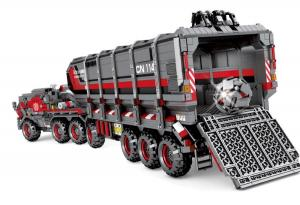 "Großer Cargo Transporttruck (Figuren ""geköpft"")"