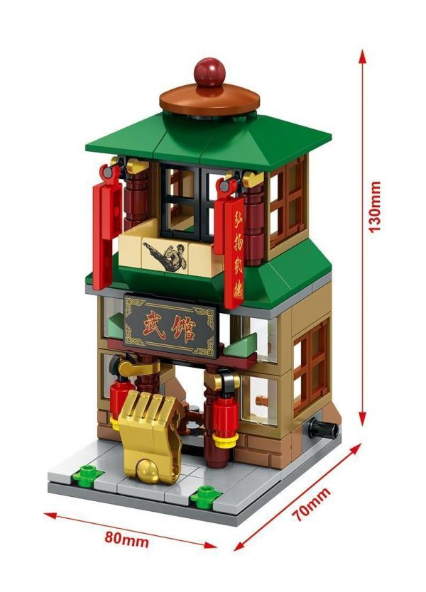 Mini Street City Restaurant Series (4er Set)