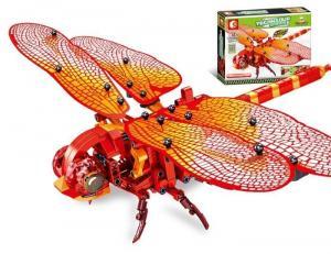 Mechanische rote Libelle