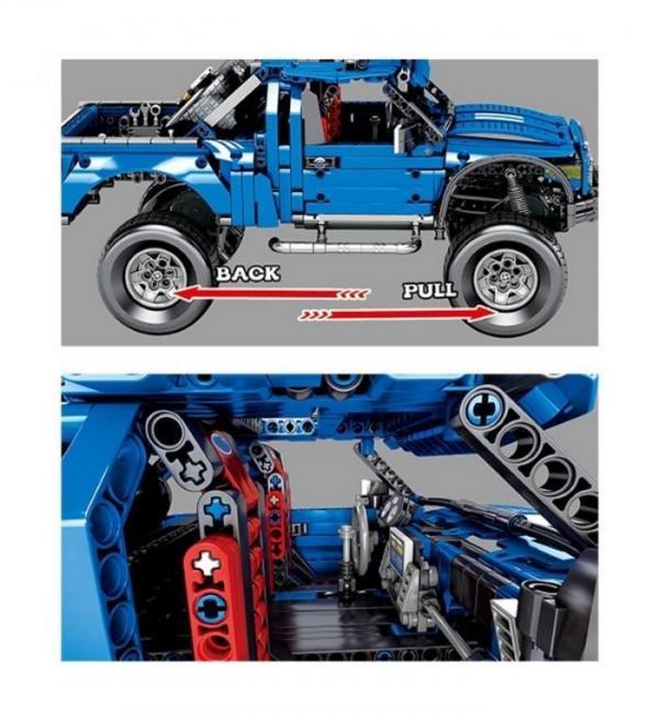 Technik Raptor blue Pickup Truck