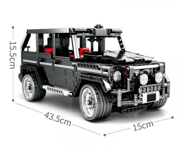 Technic black off-road vehicle