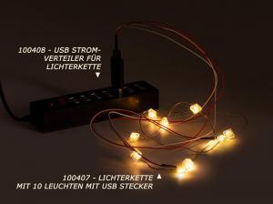 USB Strom-Verteiler für LED Lichterkette