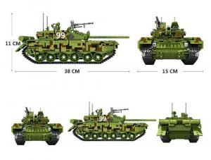 Military Battle Tank Type 99