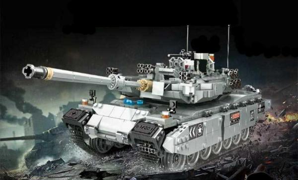 Militärischer Kampfpanzer Leo 2