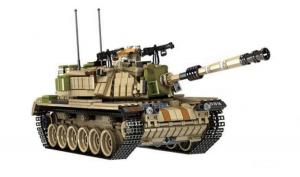 Military Battle Tank Magach M60
