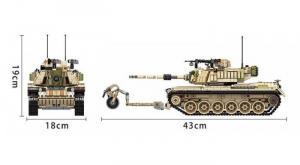 Militärischer Kampfpanzer Magach M60