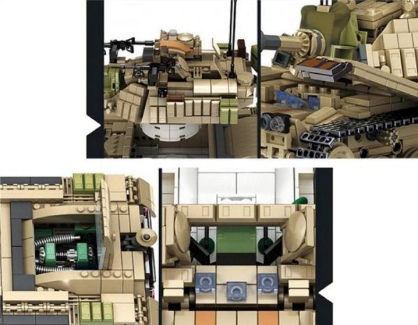 Military Battle Tank Magach M60
