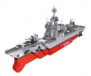 Militärische Raketen Zerstörer Fregatte 055
