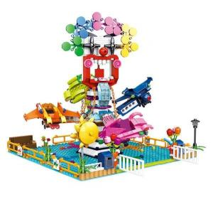 Paradise Clowns spaceship amusement ride