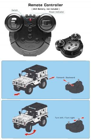 R/C technic off-road vehicles Car 2.4 G