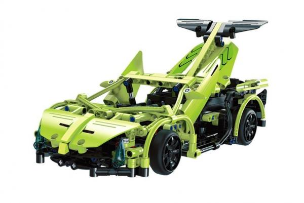 R/C technic Sports Car Green 2.4 G