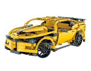 R/C technic Sports Car Yellow 2.4 G