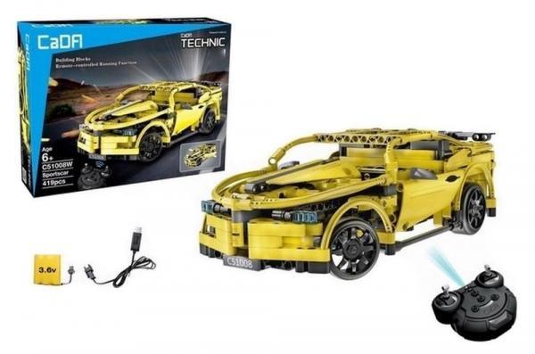R/C technic Sports Car Yellow 2.4 G