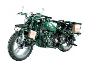 Motorized technic WWII Motorcycle