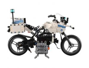 Motorized technic Police Motorcycle