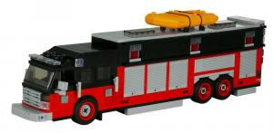 Fire truck Commander Heavy Rescue red/black