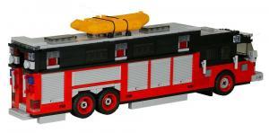 Feuerwehr Commander Heavy Rescue Rot/Schwarz