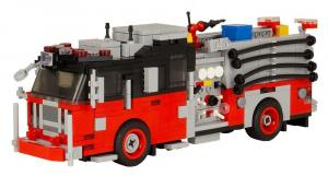 Seagrave Attacker HD Rot/Schwarz