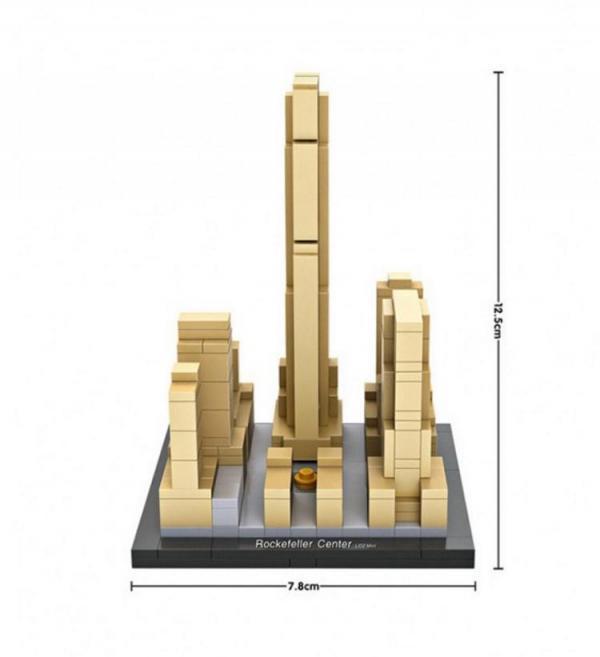Rockefeller Center, New York, USA (mini blocks)