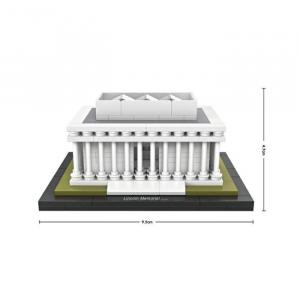 Lincoln Memorial, Washington DC, USA (mini blocks)