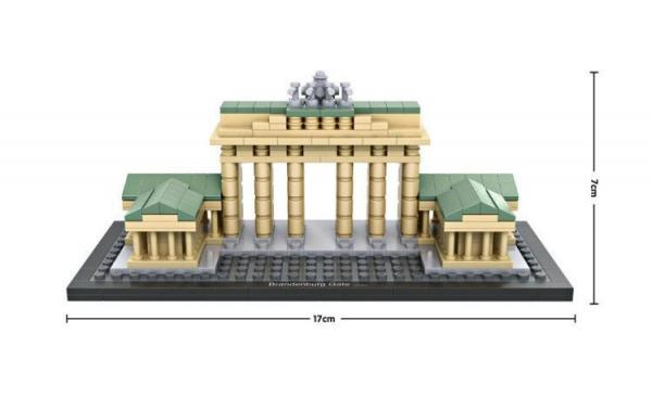 Brandenburg Gate, Berlin, Germany (mini blocks)