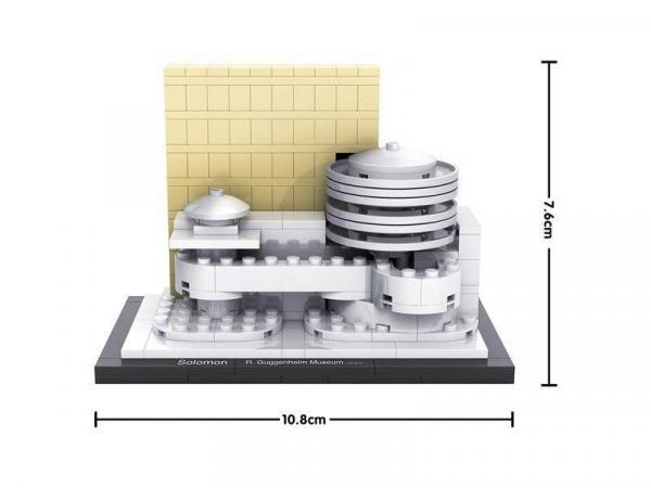 Guggenheim Museum, New York, USA (mini blocks)