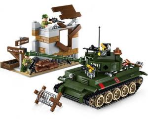 Tank and house