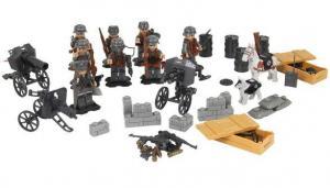 Wehrmacht WWII Soldaten Artillerie Schützengraben