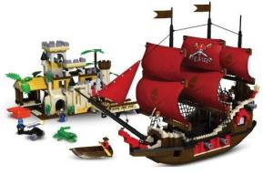Big Pirate Ship with Castle