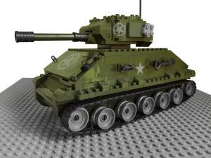 Tank U.S M4 A318