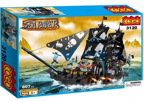 Black Pirat Ship