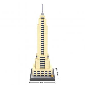 Empire State Building, New York, USA (Diamond Blocks)