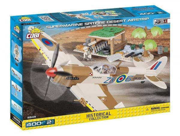 Supermarine Spitfire Desert Airstrip