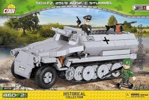 SD KFZ 251/9 Ausführung C Stummel