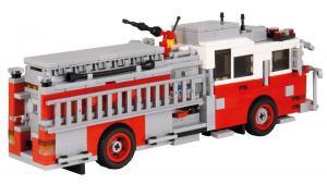 Seagrave Pumper Version 1 rot/weiß