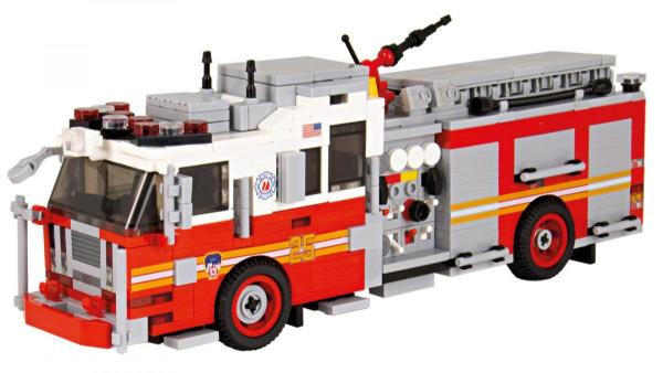 Seagrave Pumper Version 1 red/white